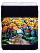 Canyon De Chelly In The Fall Duvet Cover