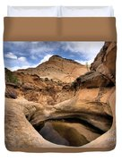 Canyon Pool Duvet Cover