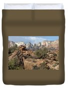 Canyon Trail Overlook Duvet Cover