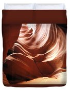 Canyon Waves Duvet Cover