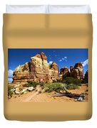 Canyonlands Chesler Park Duvet Cover