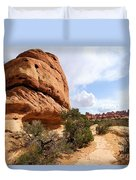 Canyonlands Needles Trail Duvet Cover