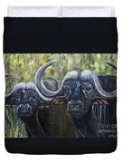 Cape Buffalo 2 Duvet Cover
