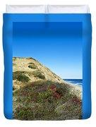 Cape Cod Dune Cliff Duvet Cover