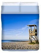 Cape Cod Lifeguard Stand Duvet Cover