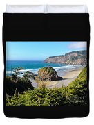 Cape Meares Lighthouse Duvet Cover