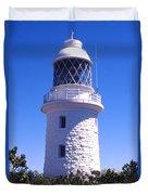 Cape Naturaliste Lighthouse Duvet Cover