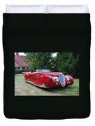 Car At Meadowbrook Duvet Cover