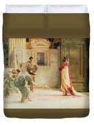 Caracalla Duvet Cover by Sir Lawrence Alma-Tadema