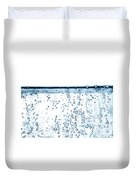 Carbonated Water Duvet Cover by Photo Researchers, Inc.