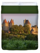 Carcassonne Dawn Duvet Cover