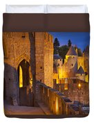 Carcassonne Ramparts Duvet Cover