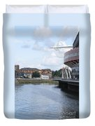 Cardiff In Wales Duvet Cover