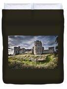 Carew Castle Pembrokeshire Long Exposure 2 Duvet Cover