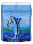 Caribbean Blue Duvet Cover