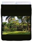Caribbean Garden Duvet Cover