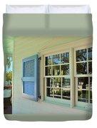 Caribbean Reflective Window Duvet Cover
