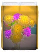 Carnation Glow Duvet Cover