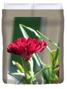 Carnation Named Hounsa Duvet Cover