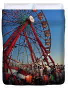 Carnival - An Amusing Ride  Duvet Cover