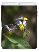 Carolina Horse Nettle - Bull Nettle - Devil's Tomato - Solanum Carolinense Duvet Cover