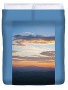 Carolina Sunset Duvet Cover