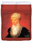 Caroline Herschel, German-british Duvet Cover