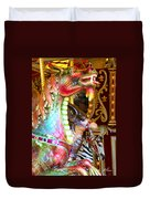 Carousel Dragon Duvet Cover