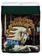 Carousel Horse - 4 Duvet Cover