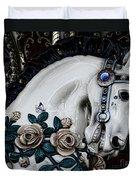 Carousel Horse - 8 Duvet Cover