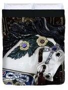 Carousel Horse - 9 Duvet Cover