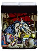 Carousel Horse 6 Duvet Cover