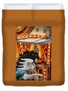 Carousel In Motion Duvet Cover