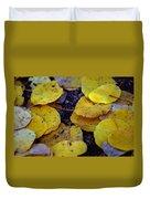 Carpet Of Gold Duvet Cover