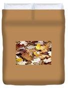 Carpet Of Leaves Duvet Cover