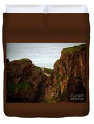 Carrick-a-rede Bridge II Duvet Cover