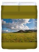 Carrizo Plain National Monument Duvet Cover