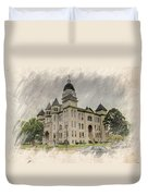 Carthage Courthouse Duvet Cover