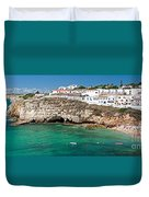 Carvoeiro Panorama Duvet Cover