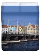Casa Amarilla And Buildings On Duvet Cover by Axiom Photographic