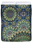 Casablanca, Morocco Duvet Cover