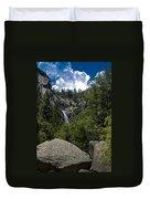 Cascade Falls Yosemite National Park Duvet Cover