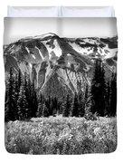 Cascade Mountain Range Duvet Cover
