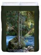 Cascade Rapids Duvet Cover