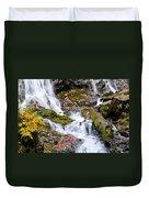 Cascades At Mingo Falls Duvet Cover