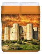 Castel Del Monte Duvet Cover