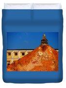 Castillo De Oro Duvet Cover by Skip Hunt