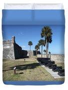 Castillo De San Marco I Duvet Cover