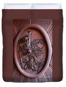 Castle Doorknocker Duvet Cover