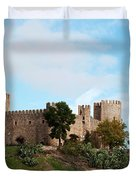 Castle In Sunlight Duvet Cover